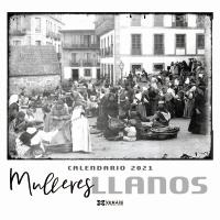 Calendario Xerais 2021. Mulleres. Llanos